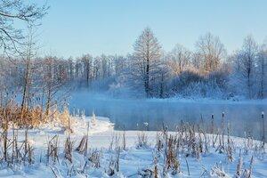 озеро большое голубое(татарстан)