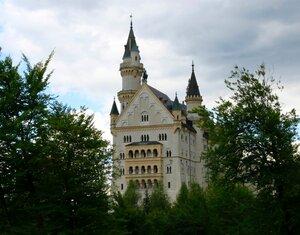Замок Нойшванштайн.